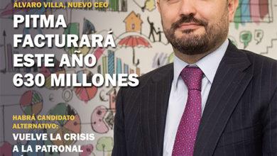 Photo of Álvaro Villa, CEO de PITMA: «En 2019 alcanzaremos los 630 millones de facturación»