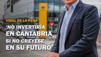 Photo of 'NO INVERTIRÍA EN CANTABRIA SI NO CREYESE EN SU FUTURO'