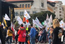 Photo of Ganaderos, agricultores  y 240 tractores toman las calles de Santander