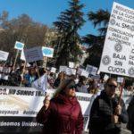 """Photo of Autónomos se manifiestan en Madrid para equiparar sus derechos """"a los de cualquier otro trabajador"""""""