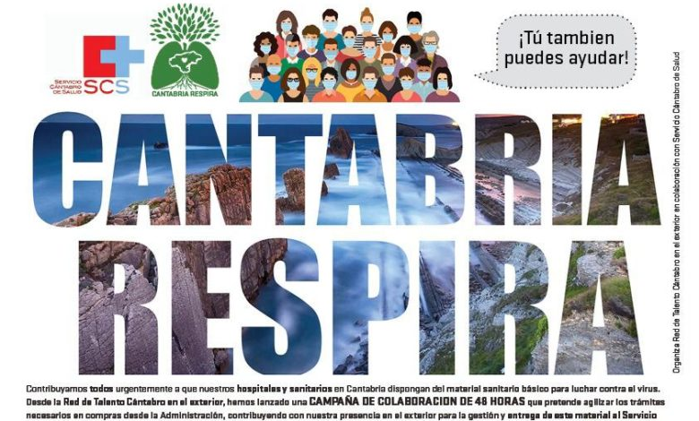 Photo of Cantabria Respira recauda más de 140.000 euros en tres días