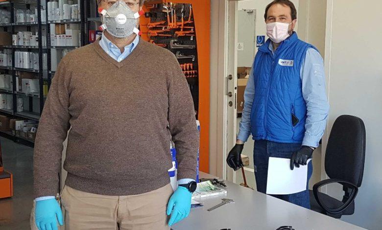 Photo of Nocu fabrica sujeciones de máscaras para sanitarios de la UCI en Valdecilla