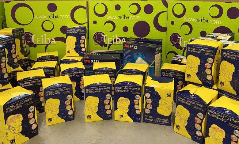 Photo of Grupo Teiba suma esfuerzos aportando 500 mascarillas