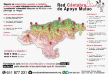 Photo of La Red Cántabra de Apoyo Mutuo reparte este fin de semana material de protección a población vulnerable