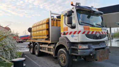 Photo of Carreteras usará los camiones de salmuera para desinfectar 34 estaciones de servicio en Cantabria