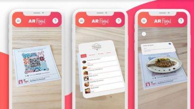Photo of AR Food: poder ver el plato en 3D antes de pedirlo, llega la Carta en Realidad Aumentada