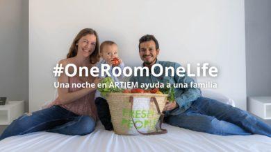 Photo of #OneRoomOneLife, una noche en ARTIEM ayuda a una familia