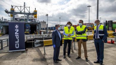 Photo of La nueva línea marítima de mercancías con Irlanda será semanal