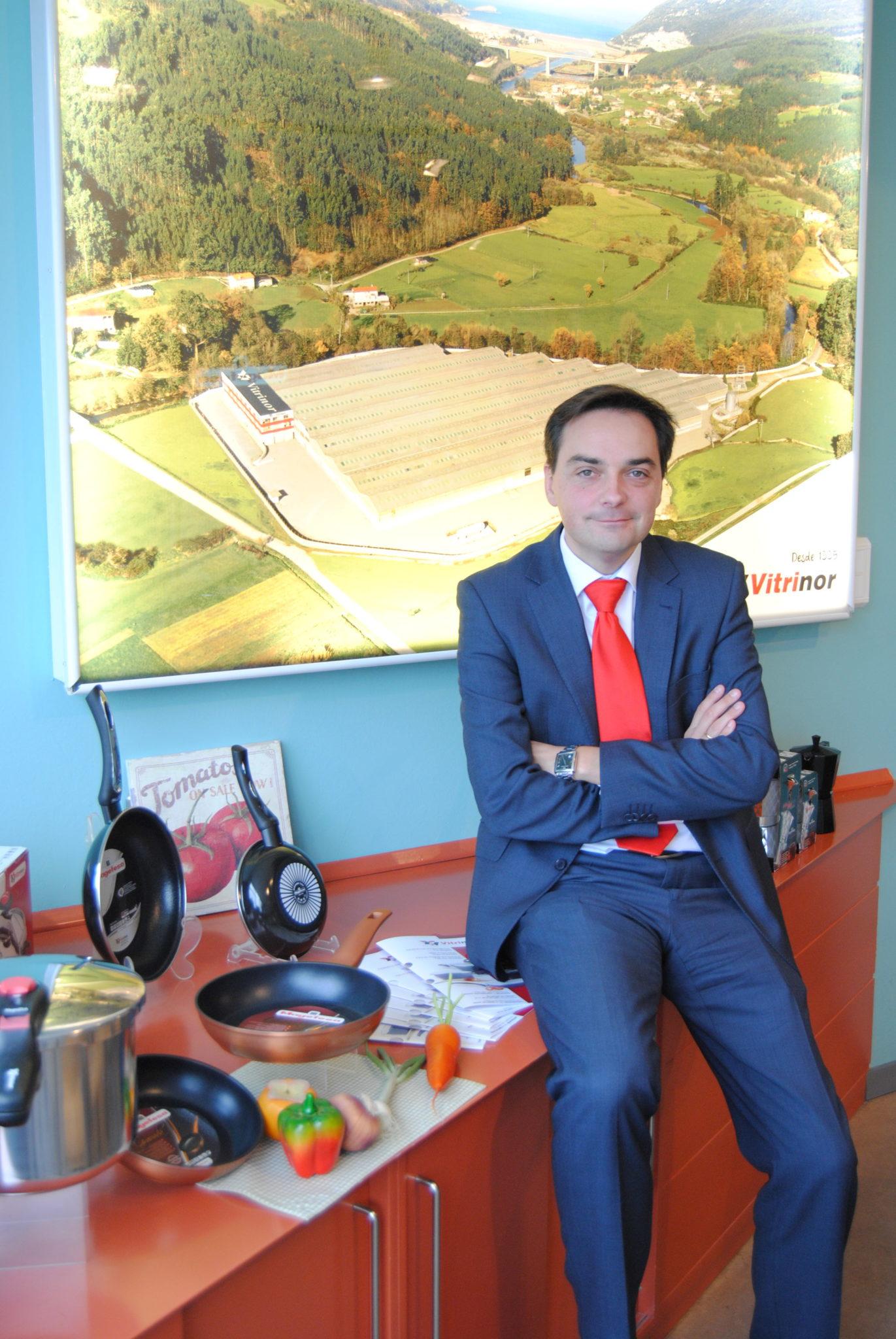 Fernando Garay, director gerente de Vitrinor.