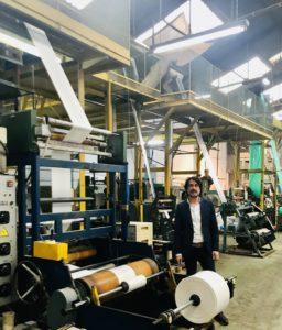 El interior de la fábrica de La Albericia.