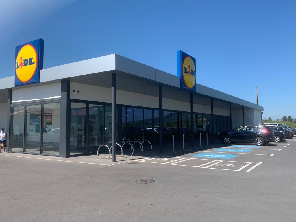 Supermercado Lidl en Reinosa
