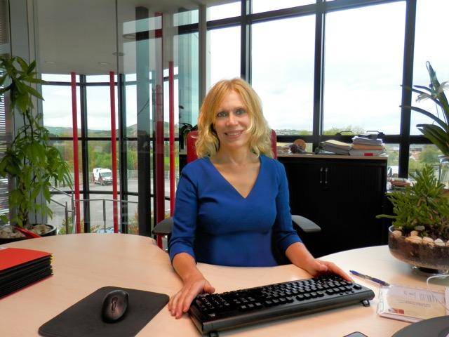 Paz Lasarte, directora de finanzas de Transportes Lasarte
