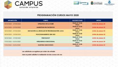 Photo of Abierto el plazo de inscripción para cursos de empleo, nuevas tecnologías y competencias y habilidades