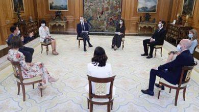 Photo of Los Reyes reciben en Zarzuela a una representación de South Summit