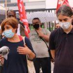 Photo of Los trabajadores del Lidl van a la huelga y se concentran a las puertas de las tiendas