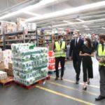 Photo of Los Reyes visitan el Centro de Transportes de Coslada ante el papel de la logística en la crisis