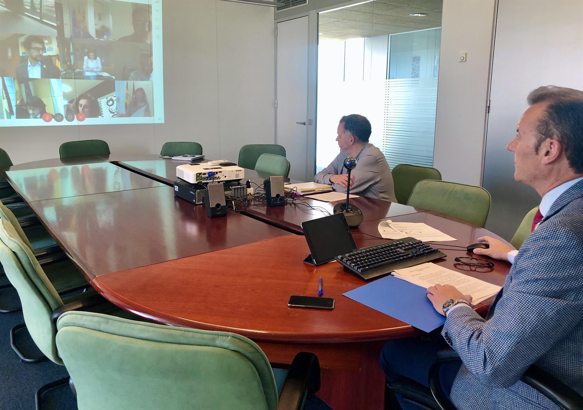 El consejero de Desarrollo Rural, Ganadería, Pesca, Alimentación y Medio Ambiente, Guillermo Blanco, participa en el Consejo Consultivo de Política Medioambiental para Asuntos Comunitarios - GOBIERNO