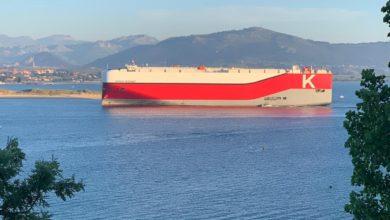 Photo of La naviera 'K' Line Car Carrier hará escala este sábado en Santander
