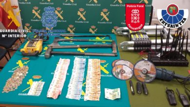 Photo of Seis detenidos en Cantabria que asaltaban empresas en el norte del país por el procedimiento del 'butrón'