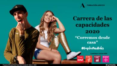 Photo of Desirée Vila y Alex Roca por el empleo de las personas con discapacidad en la XI Carrera de las Capacidades