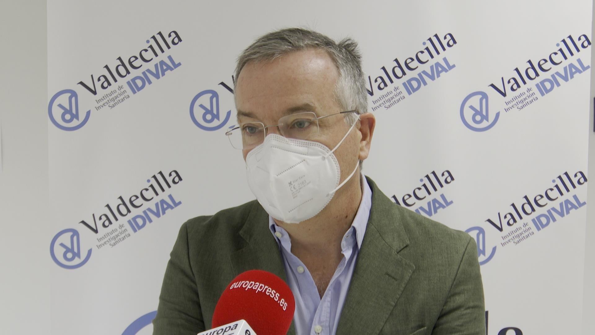 El director de gestión de la Fundación Instituto de Investigación Marqués de Valdecilla, Galo Peralta. - EUROPA PRESS