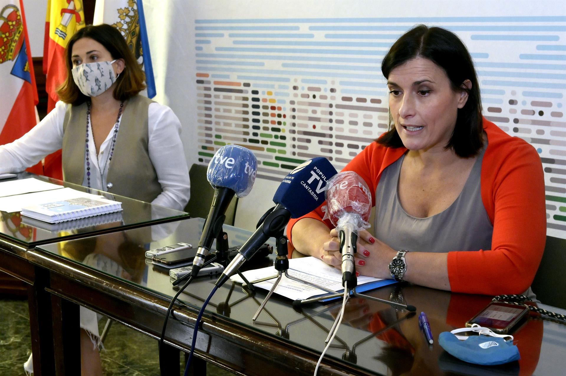 La alcaldesa con la concejala de Turismo - AYTO