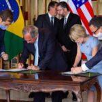 Photo of Estados Unidos y Brasil firman un acuerdo de 845 millones para reforzar su relación comercial