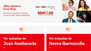 Photo of eBay Solidario se une a Giving Tuesday para apoyar el Plan Cruz Roja Responde