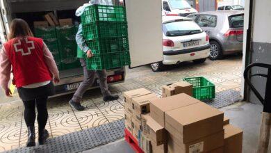 Photo of La empresa Solvay dona cinco toneladas de alimentos y productos de higiene