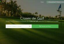 Photo of Nace Clasesde.golf, la plataforma especializada para encontrar al mejor profesor de golf