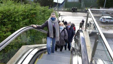 Photo of Inauguradas las nuevas rampas y escaleras entre la Avenida del Faro y Valdenoja