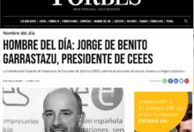 Photo of El cántabro Jorge de Benito, 'nombre del día' de la revista Forbes