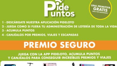 Photo of Comprar lotería en la App de Pideloto ahora tiene doble de premio gracias a: Pidepuntos