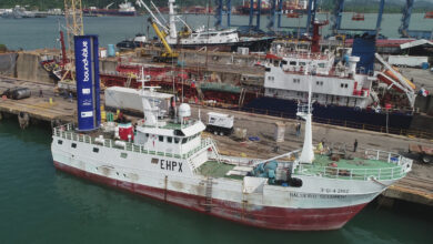Photo of El primer barco de pesca del mundo en navegar con tecnología de propulsión asistida por viento lleva sello cántabro
