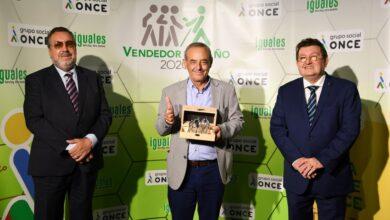 Photo of Joaquín Carlos Cobo, elegido mejor vendedor de la ONCE en Cantabria en 2020