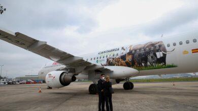 Photo of La imagen de varios animales de Cabárceno vuela desde hoy con Iberia a 90 destinos