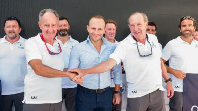 Photo of Axiance presenta el barco Elena Nova de Javier Sanz con el que competirá en la Copa del Rey de Vela